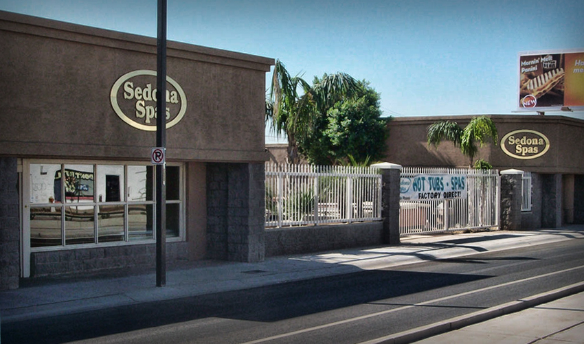 Sedona-Spas-Hot-Tub-Showroom-in-Phoenix-Arizona,-Spa-Showroom